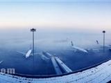 冻雾导致乌鲁木齐机场航班延误