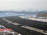 乌鲁木齐城北主干道东延南半幅临时通车